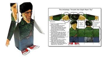 Vincent Van Gogh Paper Toy