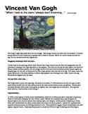 Vincent Van Gogh Reading Activity