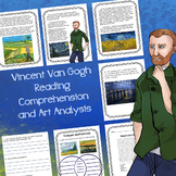 Vincent Van Gogh Reading Comprehension and Art Analysis
