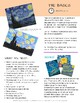 NEW/IMPROVED! Vincent Van Gogh Starry Night Lesson Plan Pack with Worksheets