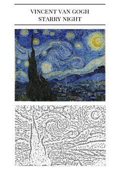Vincent Van Gogh Starry Night Practical Lesson