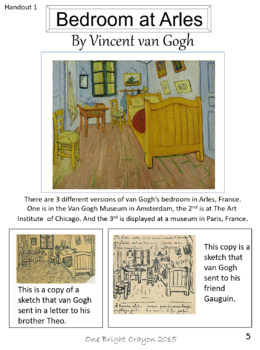 Vincent van Gogh Biography, Puzzle, and Activity - Sub lesson