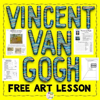 Vincent van Gogh Biography, Puzzle, and Activity - Sub lesson