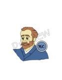 Vincent van Gogh Clip Art