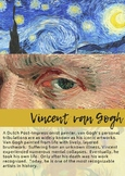 Vincent van Gogh- Classroom Icon Poster