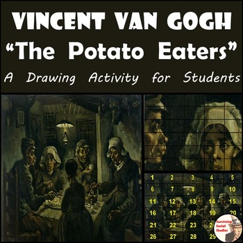 """Vincent van Gogh - Recreating """"The Potato Eaters"""" Painting"""