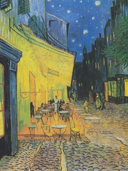 """Vincent van Gogh - Recreating the """"Cafe Terrace at Night"""" Painting"""