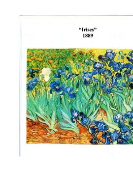 VINCENT VAN GOGH art lesson
