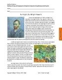 Vincent vanGogh Reading Comprehension
