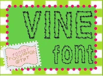 Vine Font