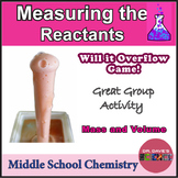 Measuring Reactants Vinegar and Baking Soda Game