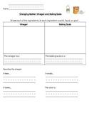 Vinegar and Baking Soda Experiment Sheet