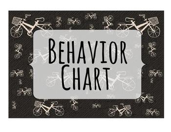 Bicycle Behavior Chart