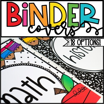 Vintage Binder Covers and Spines
