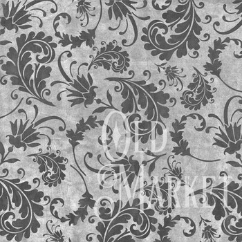 Vintage Black Digital Paper Pack - Grunge Papers - 16 Different Papers - 12x12in