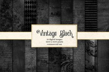 Vintage Black Textures