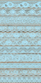 Vintage Blue Lace Borders Overlays Clipart Embellishments png