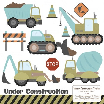 Vintage Boy Construction Clipart & Vectors