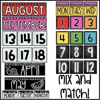 Vintage Calendar Pack
