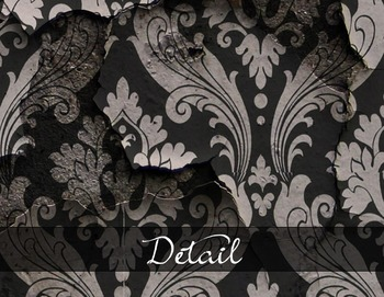 Vintage Damask Wallpaper textures grunge scrapbook digital paper backgrounds