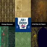 Vintage Deco and Nouveau Journal Papers