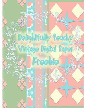 Vintage Digital Paper FREEBIE!