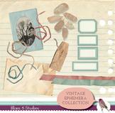 Vintage Ephemera Collection of Digital Clip Art