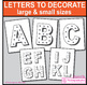 First Week Back Posters, A-Z Alphabet Bulletin Board Letters, vintage style