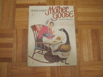 Vintage Frank Baber's Mother Goose Nursery Rhymes (Includes shipping)