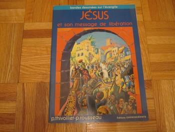 Religion Vintage French Graphic Novel comics Jesus et son