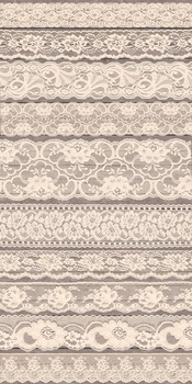 Vintage Ivory Lace Beige borders png clipart wedding scrapbook embellishments
