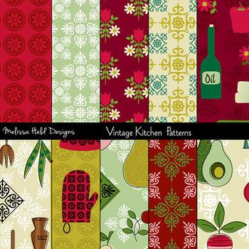Vintage Kitchen Patterns