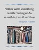 Vintage-Look Literary Quote Classroom Decor Posters (Set 1)