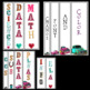 Vintage/Marquee Binder Covers and Spine Labels~ Editable