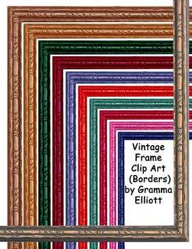 Vintage Painted Frames