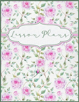 Vintage Roses Lesson Plans Book Cover