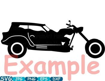 Vintage Sport Cars Monogram clip art hot rod Antique Car ClipArt  gear - 313s