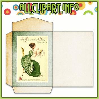 $1.00 BARGAIN BIN - Vintage St. Patrick's Day Seed Packet 10