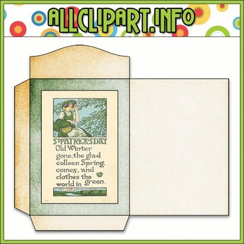 $1.00 BARGAIN BIN - Vintage St. Patrick's Day Seed Packet 2