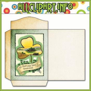 $1.00 BARGAIN BIN - Vintage St. Patrick's Day Seed Packet 4