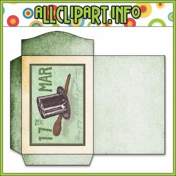 $1.00 BARGAIN BIN - Vintage St. Patrick's Day Seed Packet 5