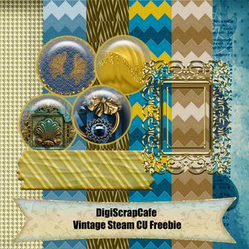 Vintage Steam CU Freebie Add On