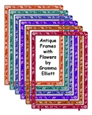 Vintage Style Italian Micro Mosaic Resizable Frames in an Assortment of Colors