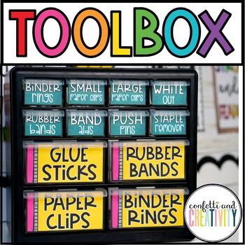 Vintage Teacher Toolbox