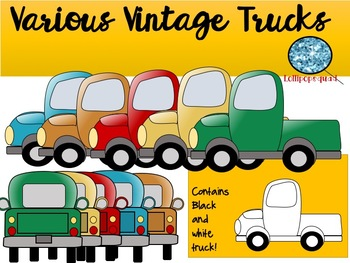 Vintage Trucks and Wreathes