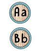 Vintage Wood Word Wall Labels