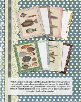 Vintage nautical fish illustrations