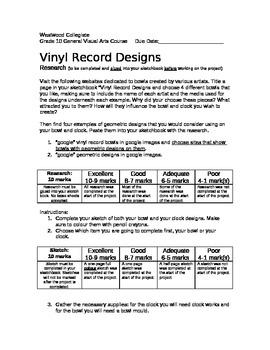 Vinyl Record Designs