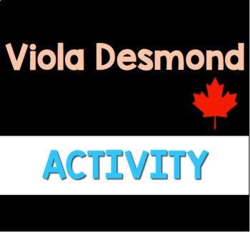 Viola Desmond: Companion Questions