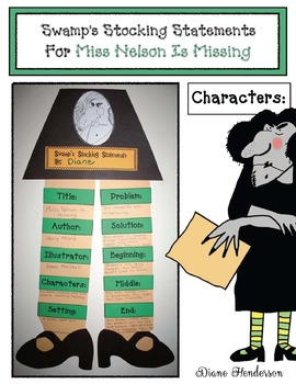 Viola Swamp's Stocking Statements: Story Elements Craftivity